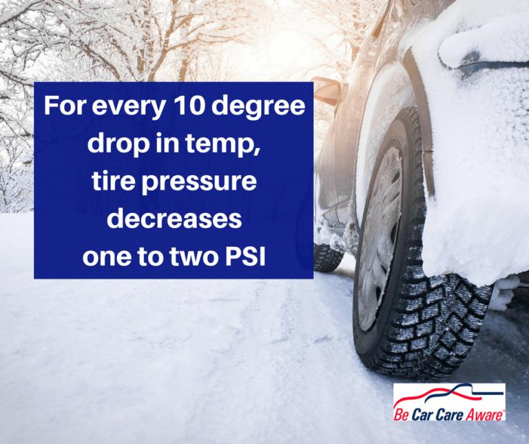 It's COLD Outside. Check Your Tire Pressure! - Hillside ...